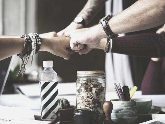 Zusammenhalt im Team